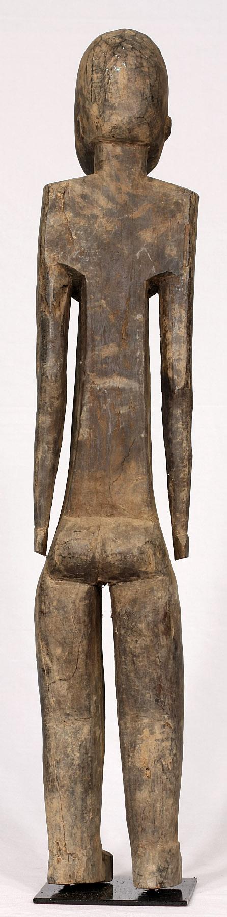 Talla Lobí de 85 cm de altura. Originaria de Burkina Faso. Ant